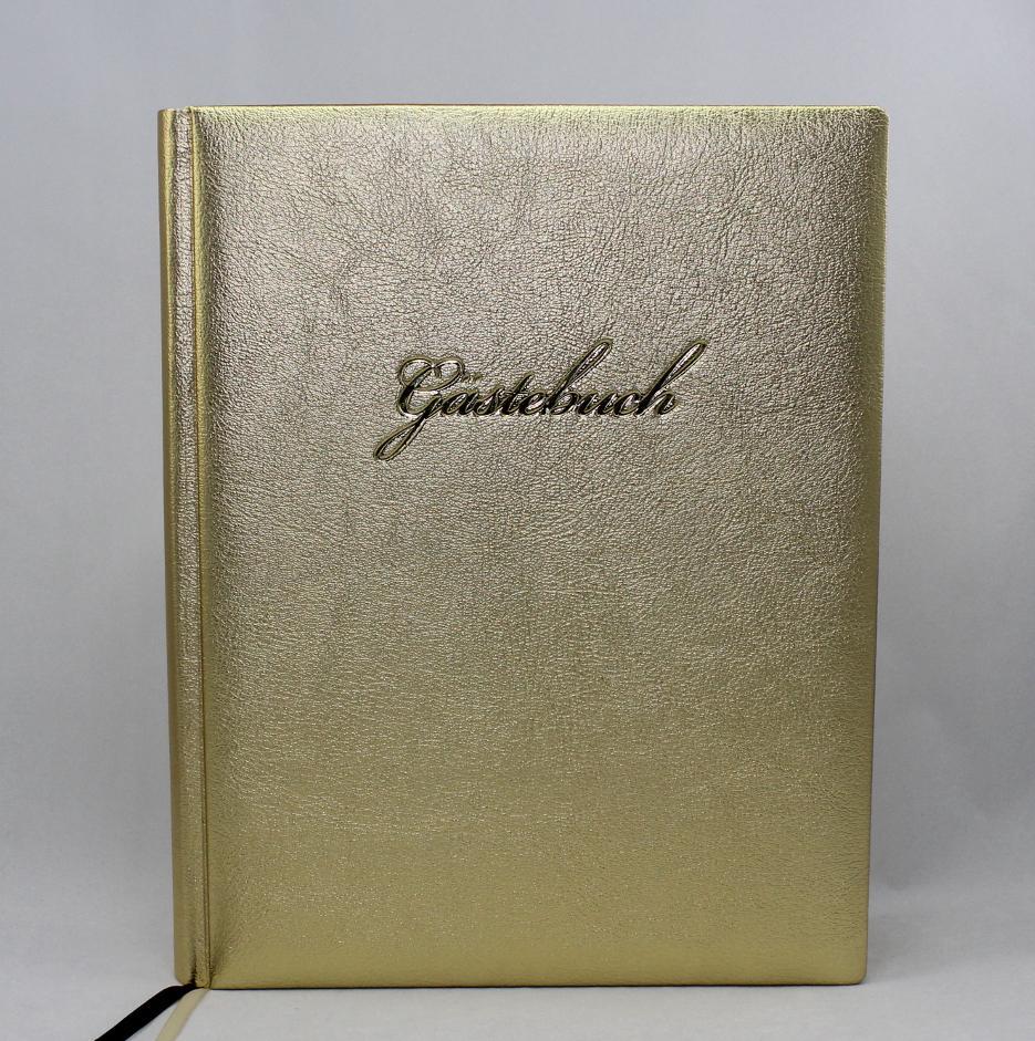 "Gästebuch ""Gold "" groß - VERA DONNA - SHOP"