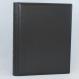 Gästebuch dick schwarz Vollrindleder