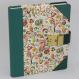 Tagebuch Tempesta grün Halbleder