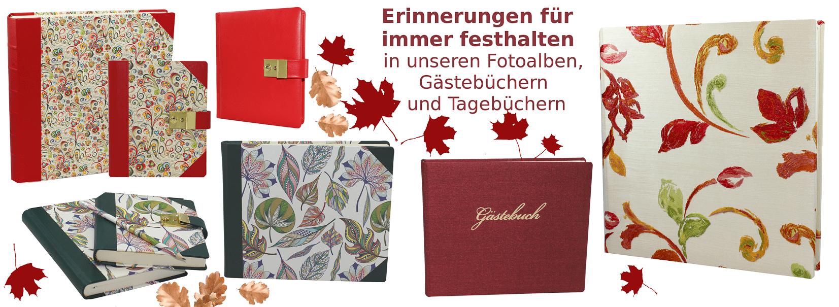 Buchbinderei Vera Donna Herbst Produkte